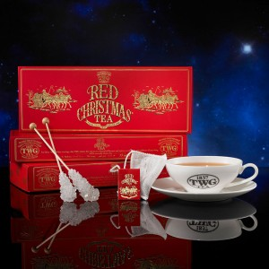 Red Christmas Tea